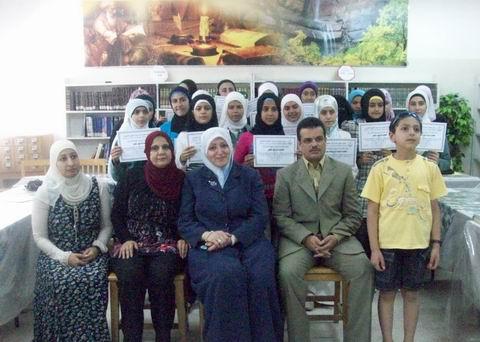 Photo of تخريج دورة في حقوق الإنسان والمهارات الحياتية