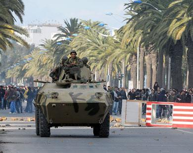 عربات الجيش انتشرت بمناطق عديدة بالعاصمة