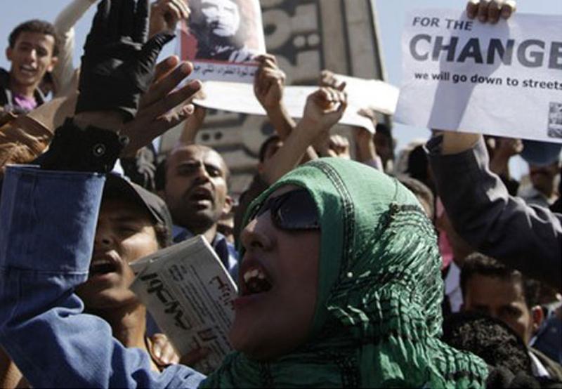 صورة يتعين على اليمن وقف الهجمات على المحتجين