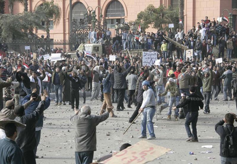 تعرض الكثير من المحتجين في مصر للتعذيب أثناء الاعتقال