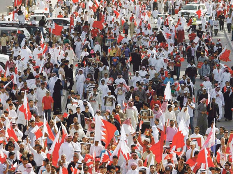 Photo of البحرين: الجيش والشرطة يطلقان النار على المتظاهرين
