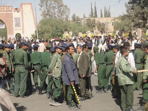 Photo of اليمن: استخدام القوة المفرطة ضد المتظاهرين