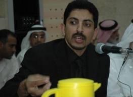صورة عبد الهادي الخواجا الناشط الحقوقي البحريني بوجه نداء لكل من يستطيع التدخل  حول حالته الصحية الصعبة