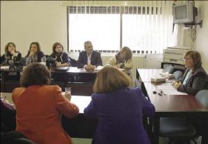 صورة مناقشة التقرير الخامس للحكومة حول اتفاقية القضاء على كافة اشكال التمييز ضد المرأة