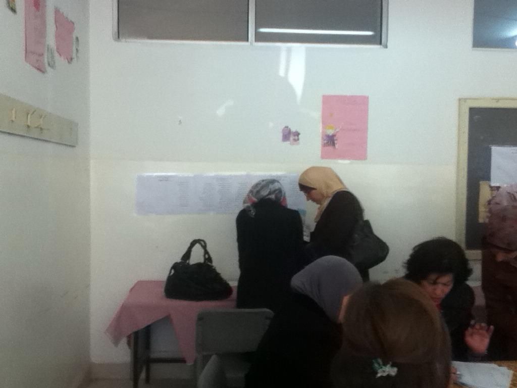 صورة التقرير الأولي حول انتخابات نقابة المعلمين الأردنيين مشاركة واسعة تنقصها السرية التامة في التصويت