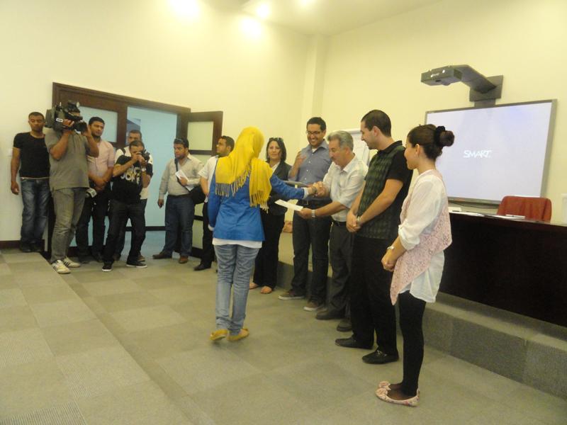 مؤسسة المستقبل بالتعاون مع مركز عمان لحقوق لدراسات حقوق الانسان ينظمان اربع ورش تدريبية على مراقبة الانتخابات في ليبيا