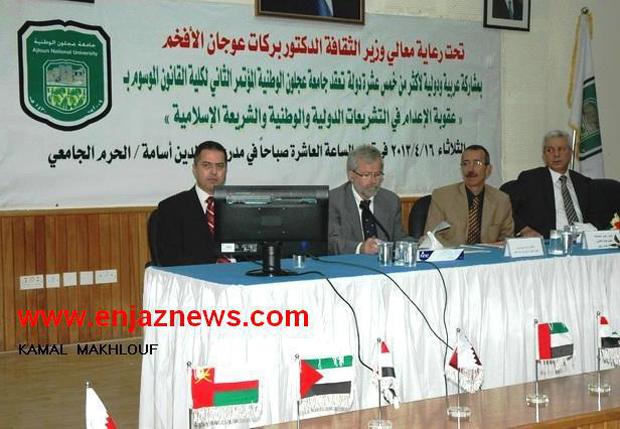 صورة عقوبة الإعدام في التشريعات الدولية والوطنية والشريعة الإسلامية