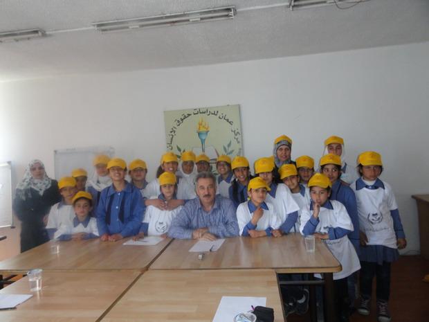 Photo of زيارة مدرسة إناث مادبا الابتدائية  الى مركز عمان لدراسات حقوق الإنسان