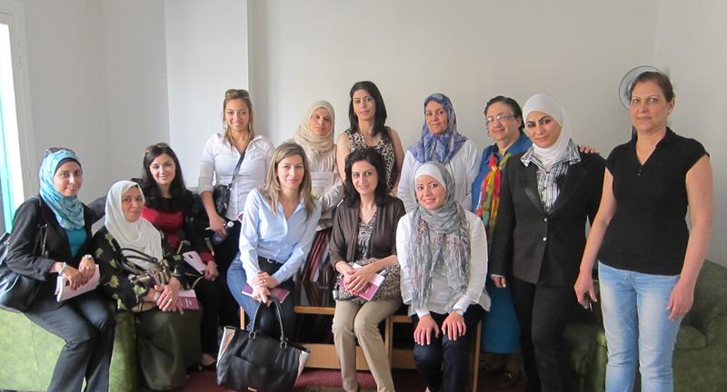 اختتام زيارة دراسية للبنان للمشاركات في الدفعة الثالثة من برنامج المعهد الأردني للقيادات النسائية