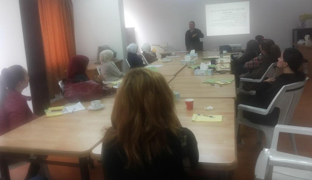 Photo of اختتام الدورة الثالثة للمشاركات  في الدفعة الرابعة في برنامج  المعهد الأردني للقيادات النسائية