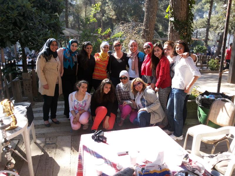 صورة اختتام الدورة الخامسة للمشاركات في الدفعة الرابعة   في برنامج  المعهد الأردني للقيادات النسائية