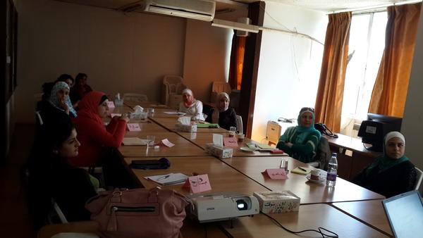 صورة اختتام الدورة السادسة للمشاركات في الدفعة الرابعة   في برنامج  المعهد الأردني للقيادات النسائية
