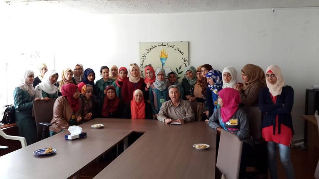 صورة زيارة مدرسة البقعة الاعدادية للبنات