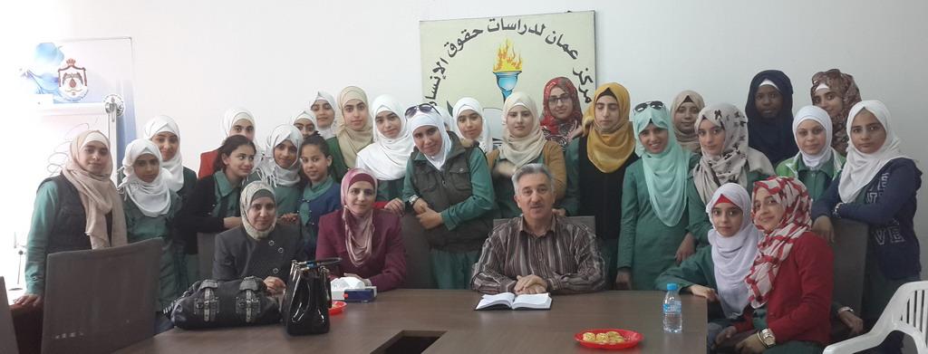 Photo of زيارة مدرسة اناث الرصيفة الاعدادية الثانية