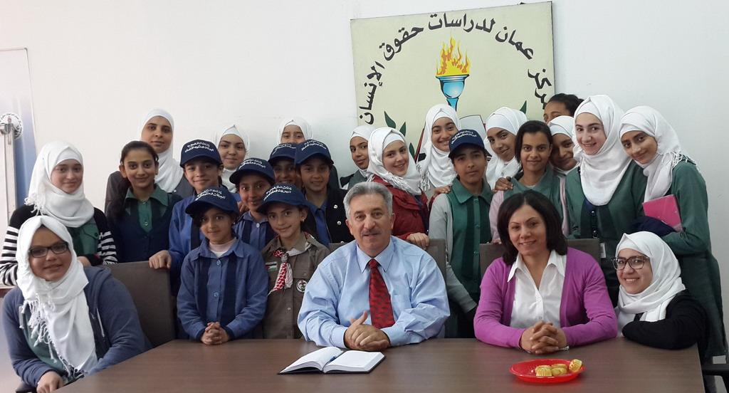Photo of زيارة مدرسة اناث النزهة الاعدادية الثالثة