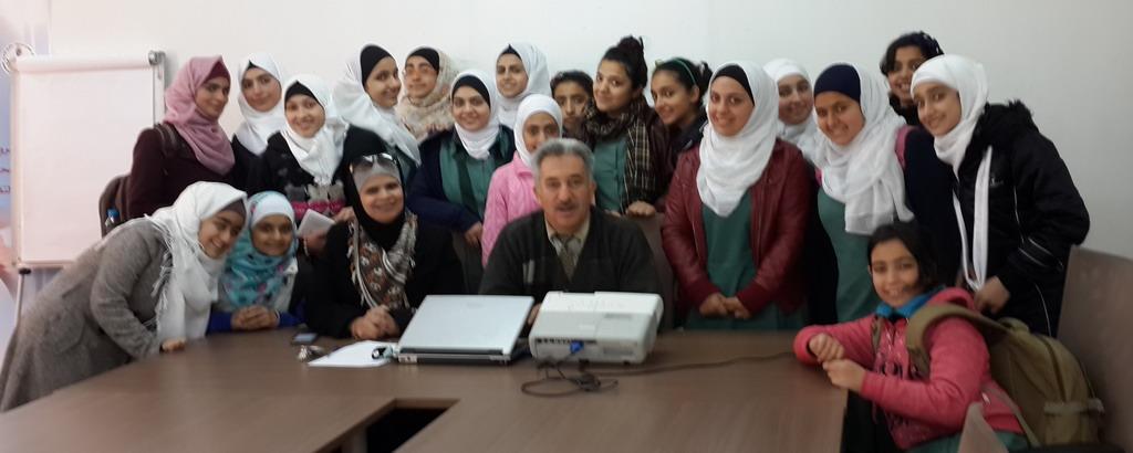 Photo of زيارة مدرسة اناث الهاشمي الاعدادية الاولى