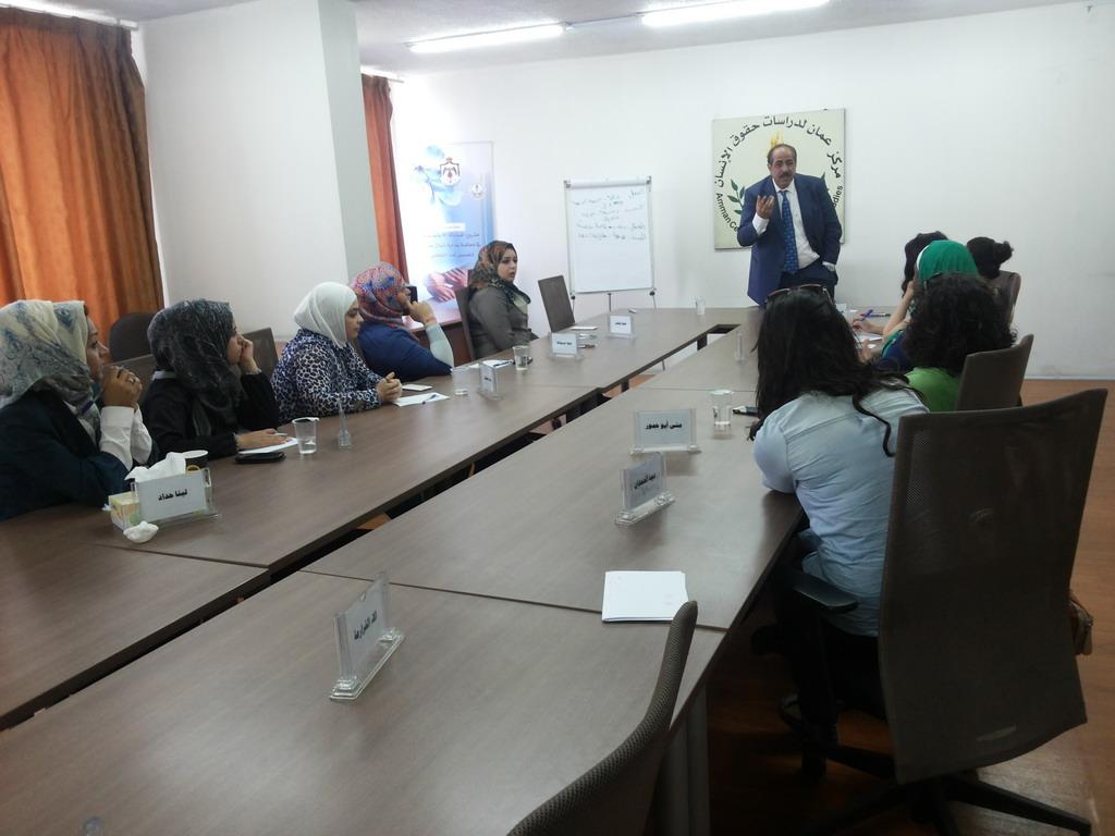Photo of اختتام الدورة الثالثة للمشاركات في الدفعة السادسة في برنامج المعهد الاردني للقيادات النسائية