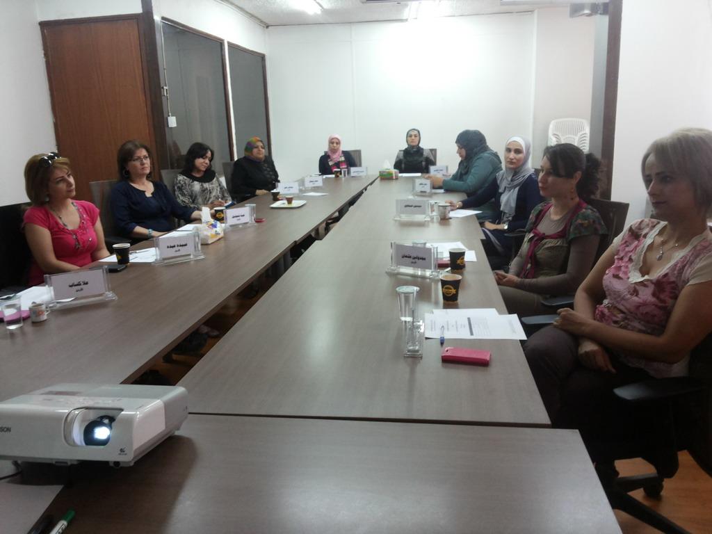 Photo of اختتام الدورة الخامسة للمشاركات في الدفعة الخامسة  في برنامج المعهد الاردني للقيادات النسائية