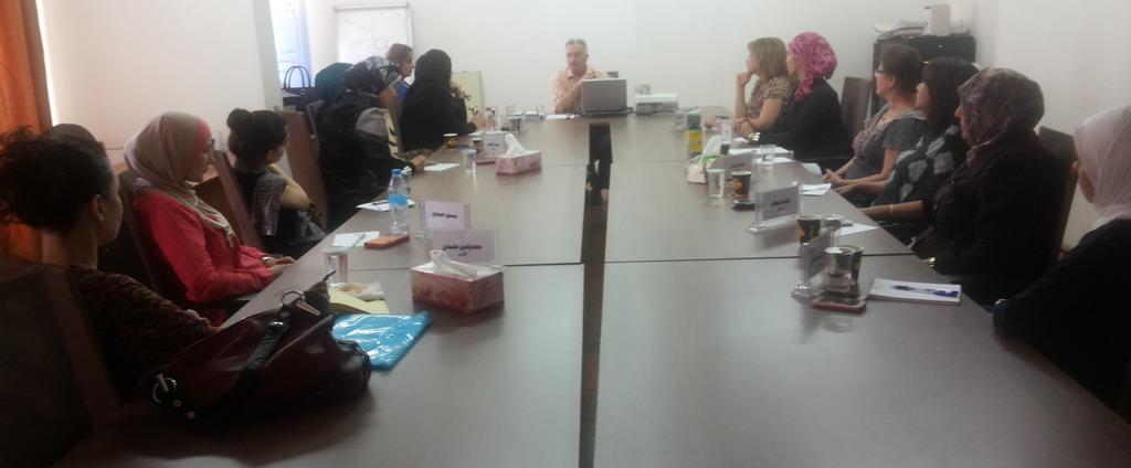 صورة اختتام الدورة السابعة للمشاركات في الدفعة الخامسة في برنامج المعهد الاردني للقيادات النسائية