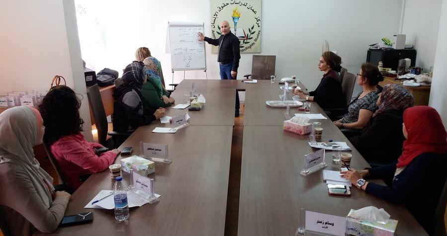 Photo of اختتام الدورة العاشرة للمشاركات في الدفعة الخامسة في برنامج المعهد الأردني للقيادات النسائية