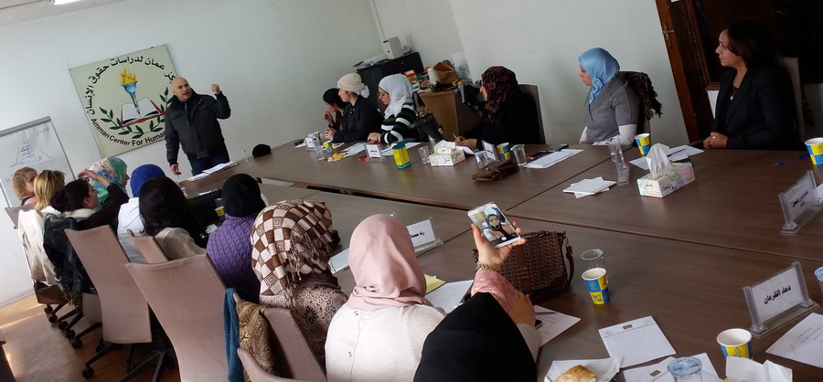 Photo of اختتام دورة للمشاركات في الدفعتين الخامسة والسادسة  في برنامج المعهد الأردني للقيادات النسائية