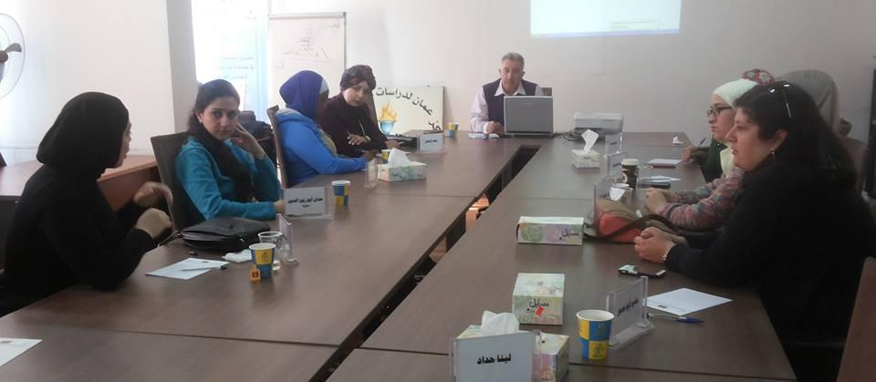 صورة اختتام الدورة التاسعة للمشاركات في الدفعة السادسة في برنامج المعهد الأردني للقيادات النسائية
