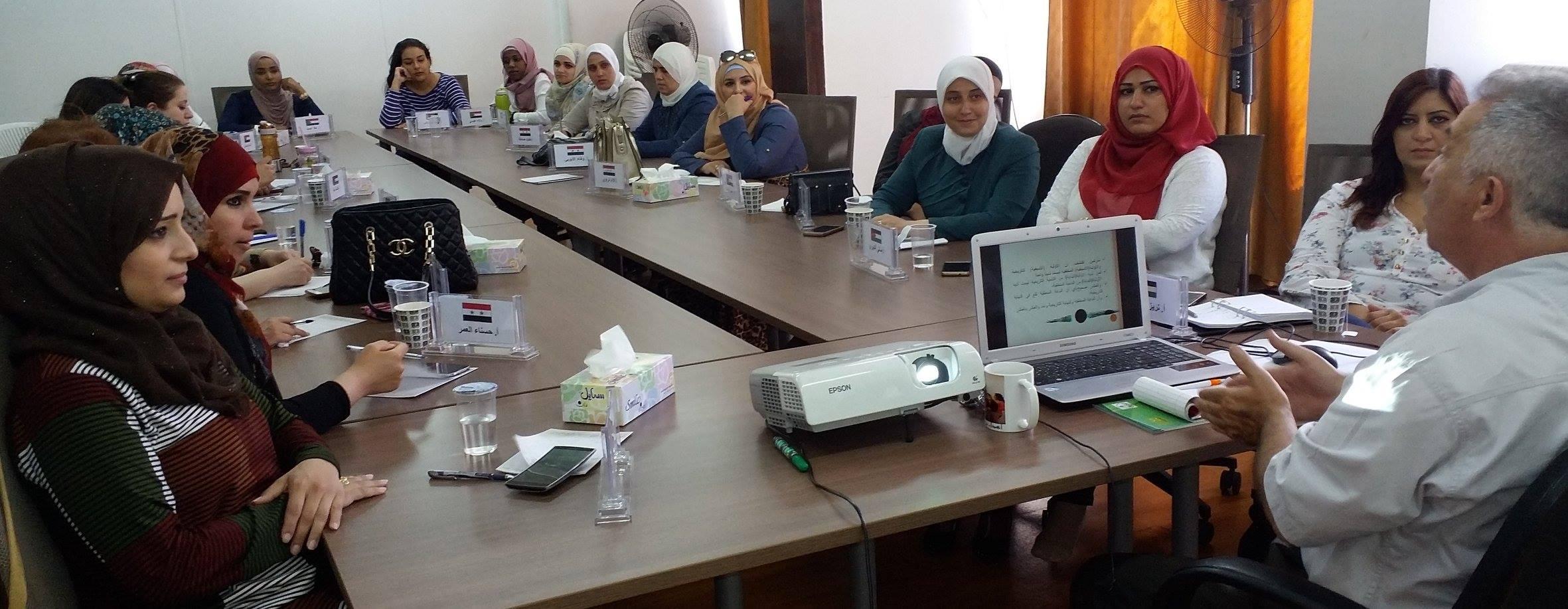 Photo of احتتام الدورة الاخيرة في برنامج القيادات النسائية 2016