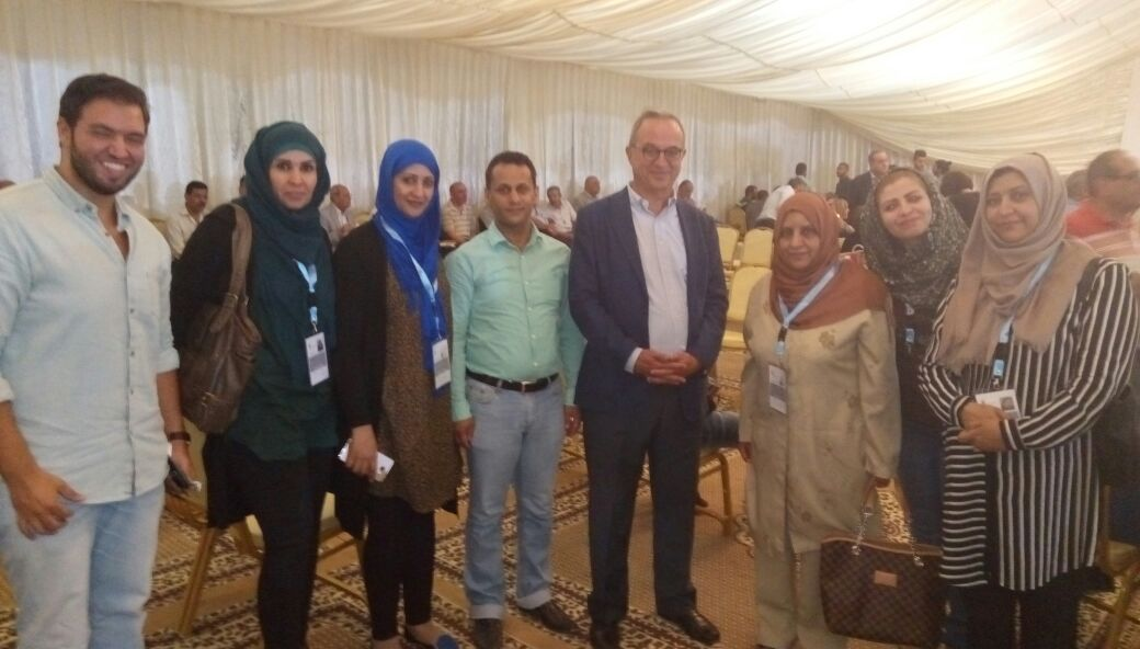 Photo of لقاءات فريق المراقبة الدولي