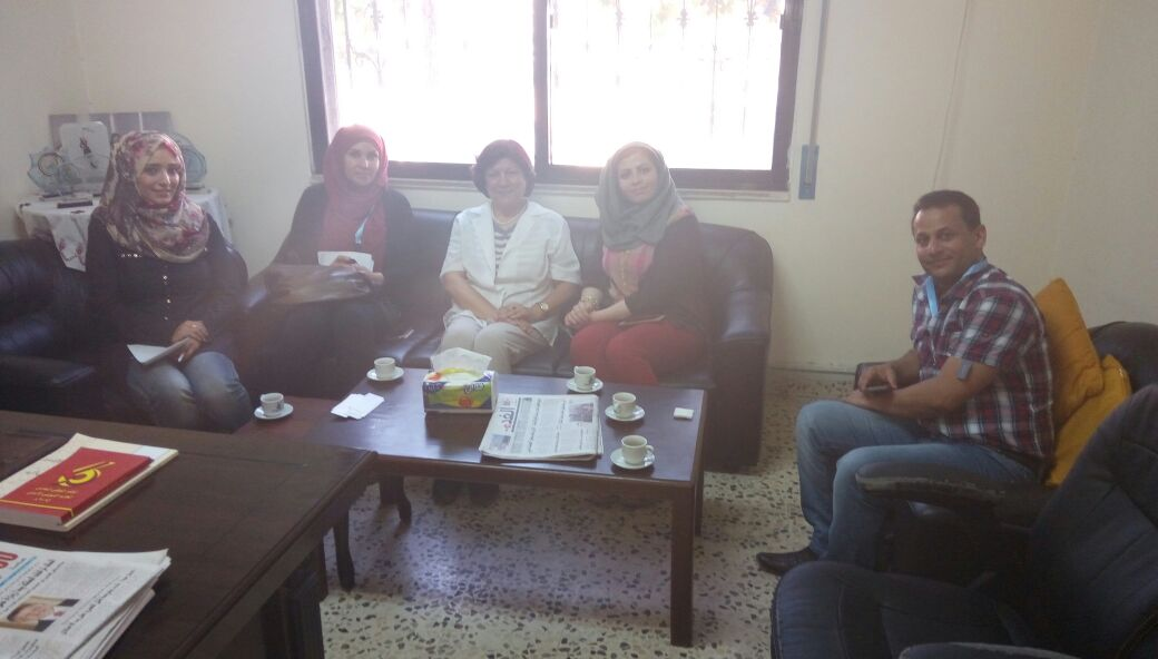 Photo of من لقاءات فريق المراقبة الدولي