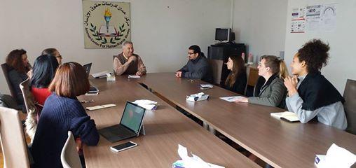 Photo of اجتماع فريق عمل المتدربين المتطوعين