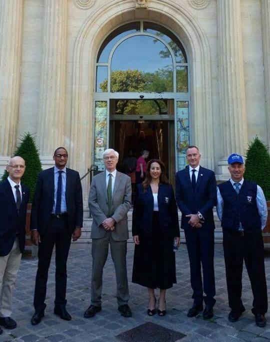 Photo of وفد من شبكة الانتخابات في العالم العربي يقوم يزيارة عمل لفرنسا خلال الانتخابات النيابية