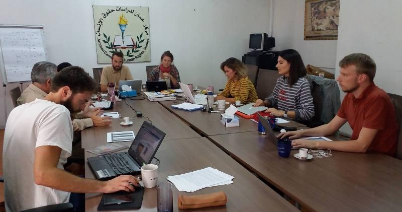 Photo of اجتماع لجنة العلاقات الدولية في مركز عمان لدراسات حقوق الانسان