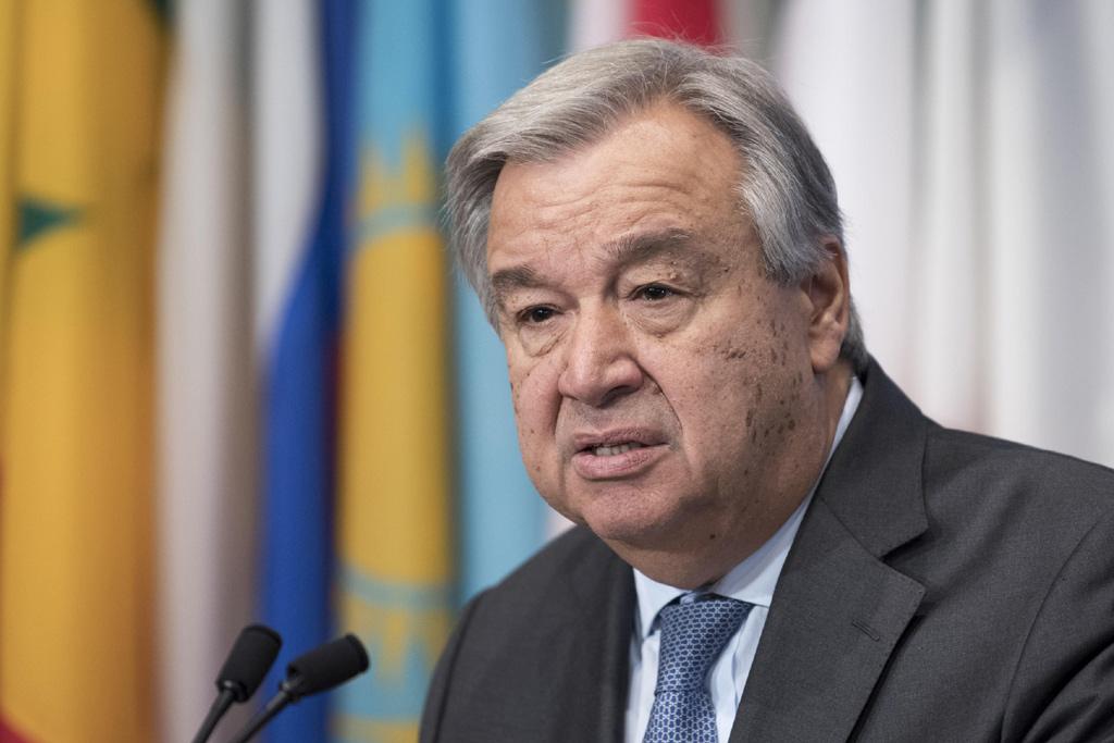 الأمين العام أنطونيو غوتيريش. الصورة: UN Photo/Mark Garten