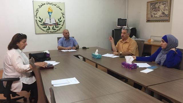 Photo of الإجتماع الأول  للهيئة التنسيقية للشبكة الأردنية لحقوق الإنسان