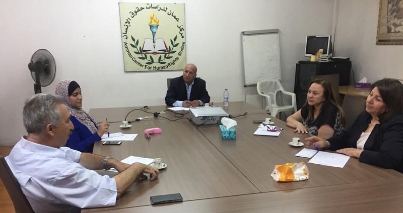 Photo of الإجتماع الثاني  للهيئة التنسيقية للشبكة الأردنية لحقوق الإنسان