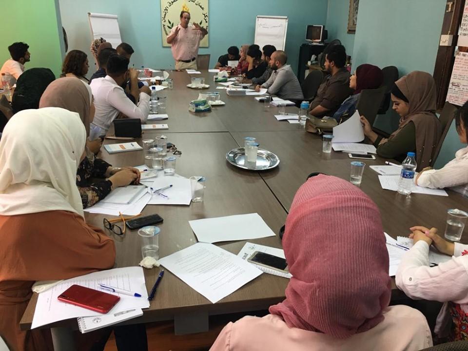 Photo of الجلسة التدريبية الأولى حول حرية الرأي والتعبير لطلبة الجامعات الأردنية