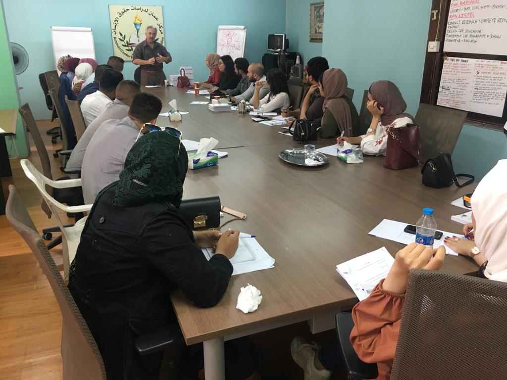 Photo of الجلسة التدريبية الثانية حول حرية الحريات الاكاديمية لطلبة الجامعات الأردنية