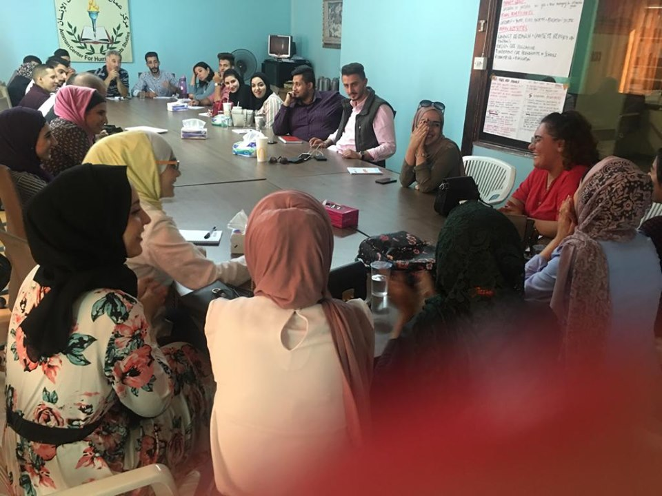 Photo of اختتام الجلسات التدريبية الثالثة والرابعة لطلبة الجامعات الأردنية المشاركين في المسابقة على وسائل التواصل الاجتماعي