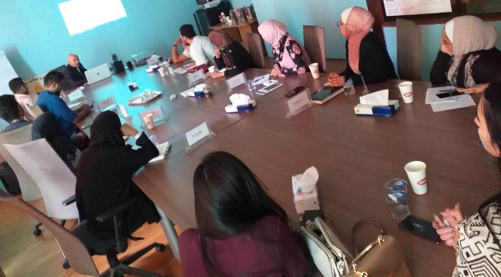 صورة اختتام اليوم العشرين للمشاركين والمشاركات في دورة القيادات الطلابية في الجامعات الأردنية