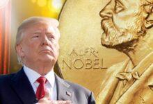 صورة مذكرة من أكثر من 201 هيئة حقوقية ومجتمعية من 14 دولة عربية  تطالب لجنة جائزة نوبل للسلام بعدم قبول ترشيح الرئيس ترمب